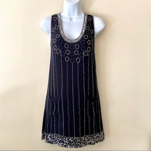 GUC French Connection Beaded Mini Shift Dress | 2